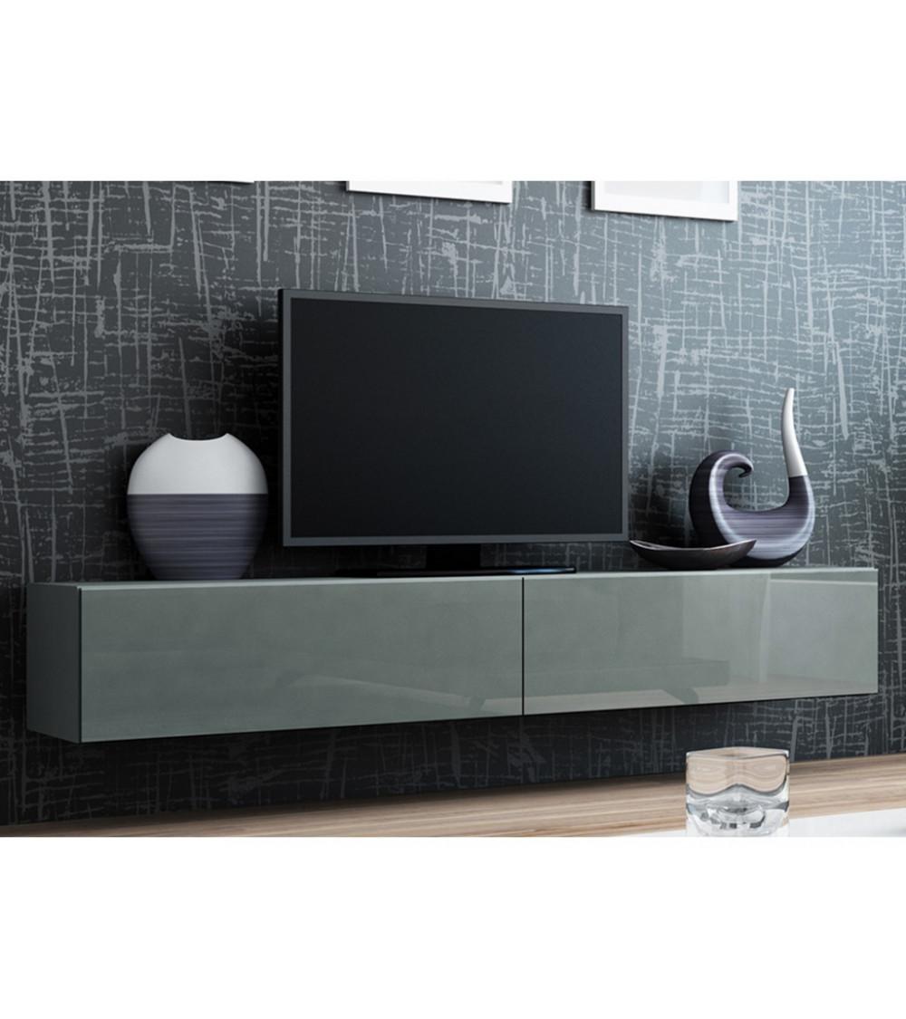 Meuble TV VIGO FULL 180, gris