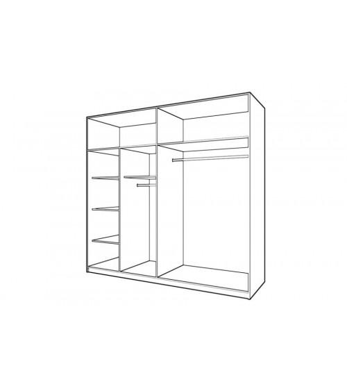 Chambre complète DOVER 160*200 cm