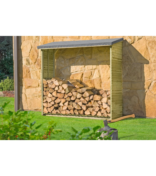 TWAIN wood log store 188x69cm