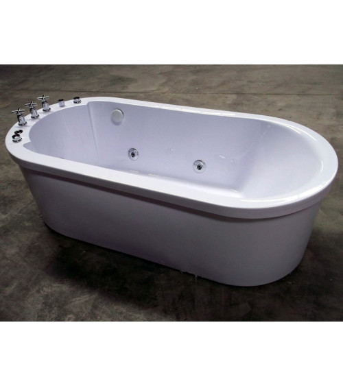 Amorgos hydromassage bathtub