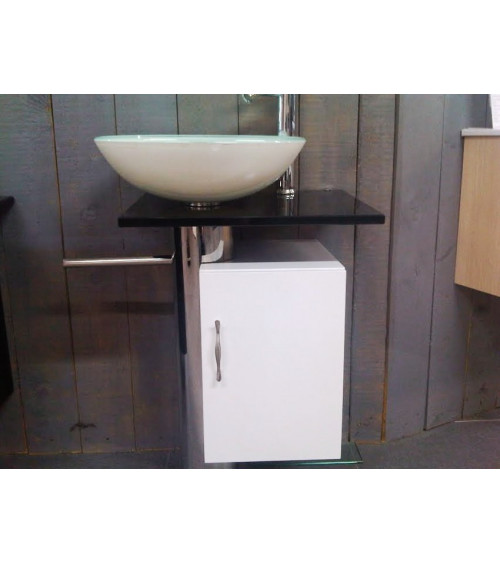 MANRESA Bathroom Furniture, white