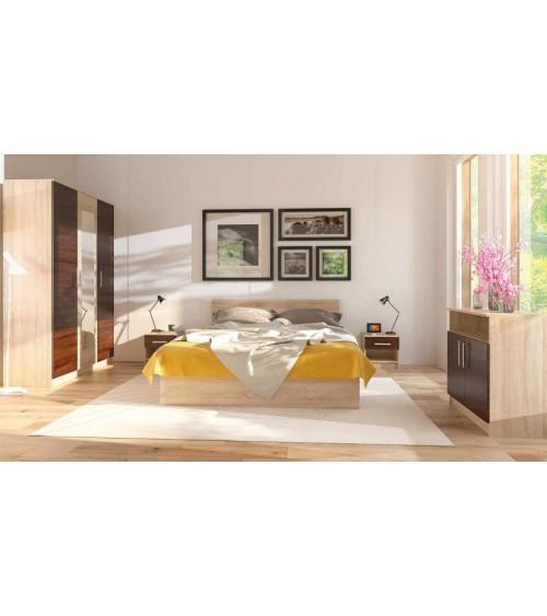 Chambre complète RENNES 160 x200 cm