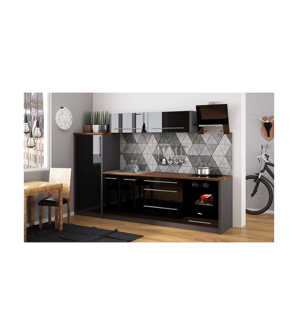 moreno sosna k chenzeile mit sp le azura home design. Black Bedroom Furniture Sets. Home Design Ideas