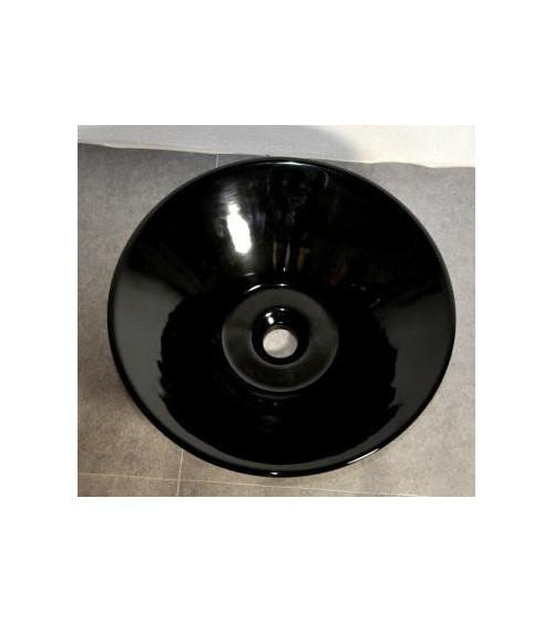 MAQUNTA freestanding basin - black