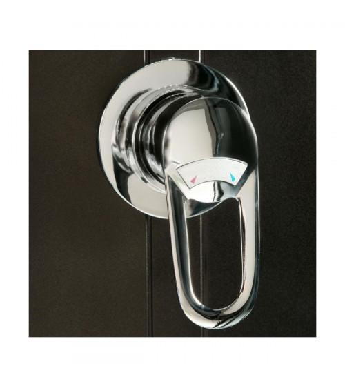 Combiné baignoire-douche TAVOLA 151*86*215 cm
