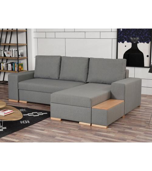 Canapé d'angle VALOREM 262 x 169 x 93 cm