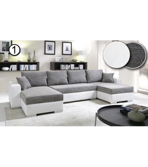 canapé d'angle ENZO 345*156cm