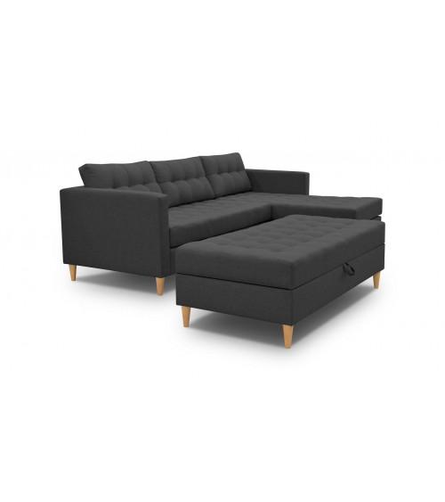 Canapé d'angle QUEST 220 x 150cm