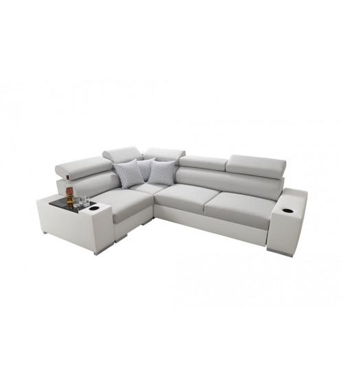 Canapé d'angle convertible AROZ 282 x 205 cm