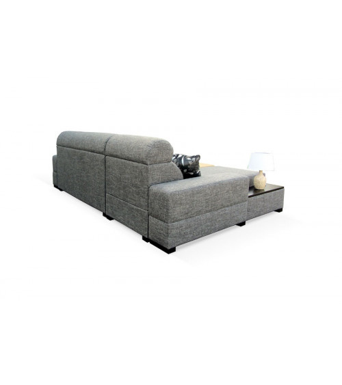 Canapé d'angle convertible OVEKA 260 x 170 cm