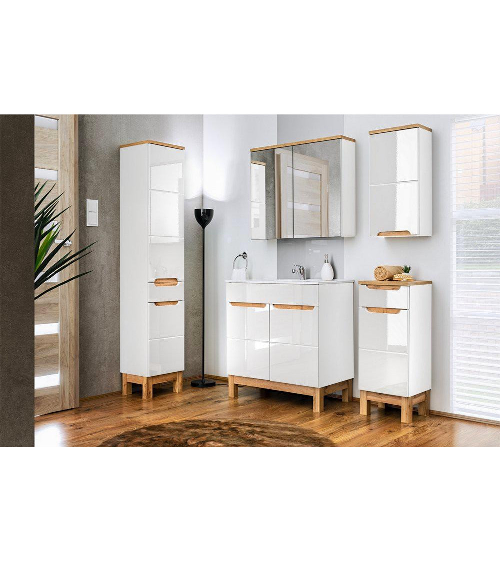 Meuble salle de bain BUENO BLANC