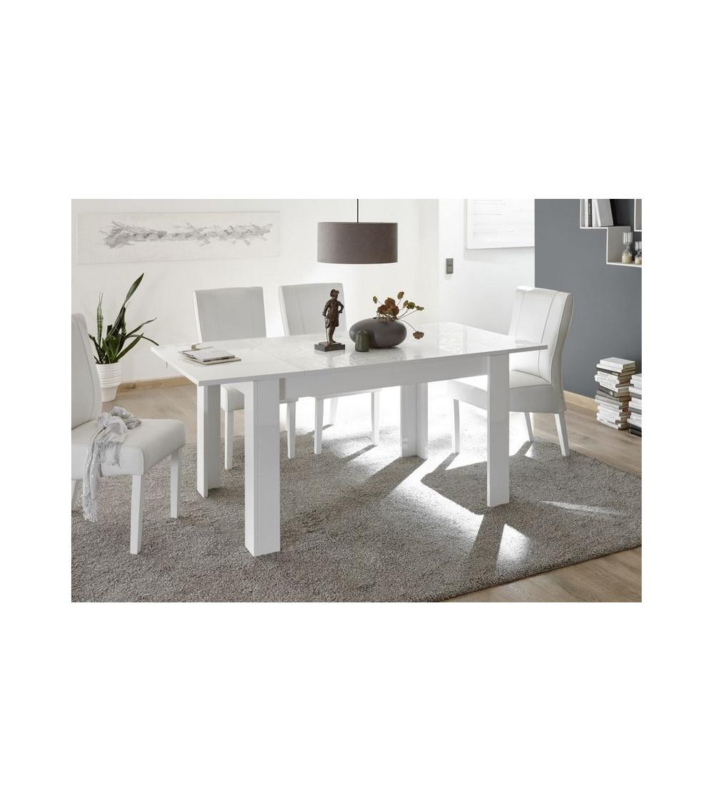 Table à manger MIREL en Blanc