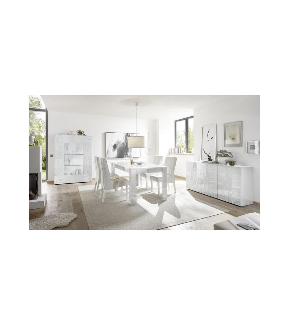Salle à manger complète MIREL Blanc