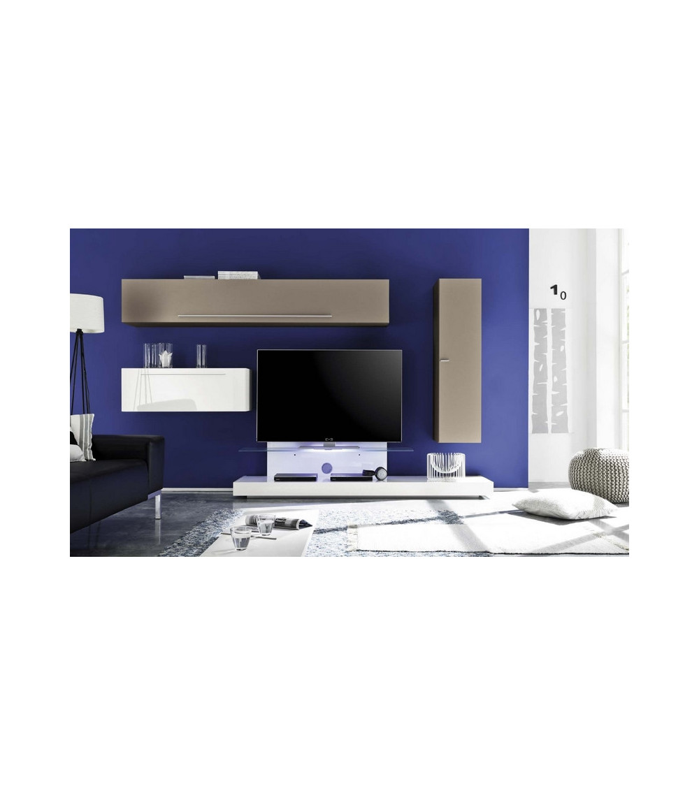 Ensemble meuble tv SPOLETO 290 cm