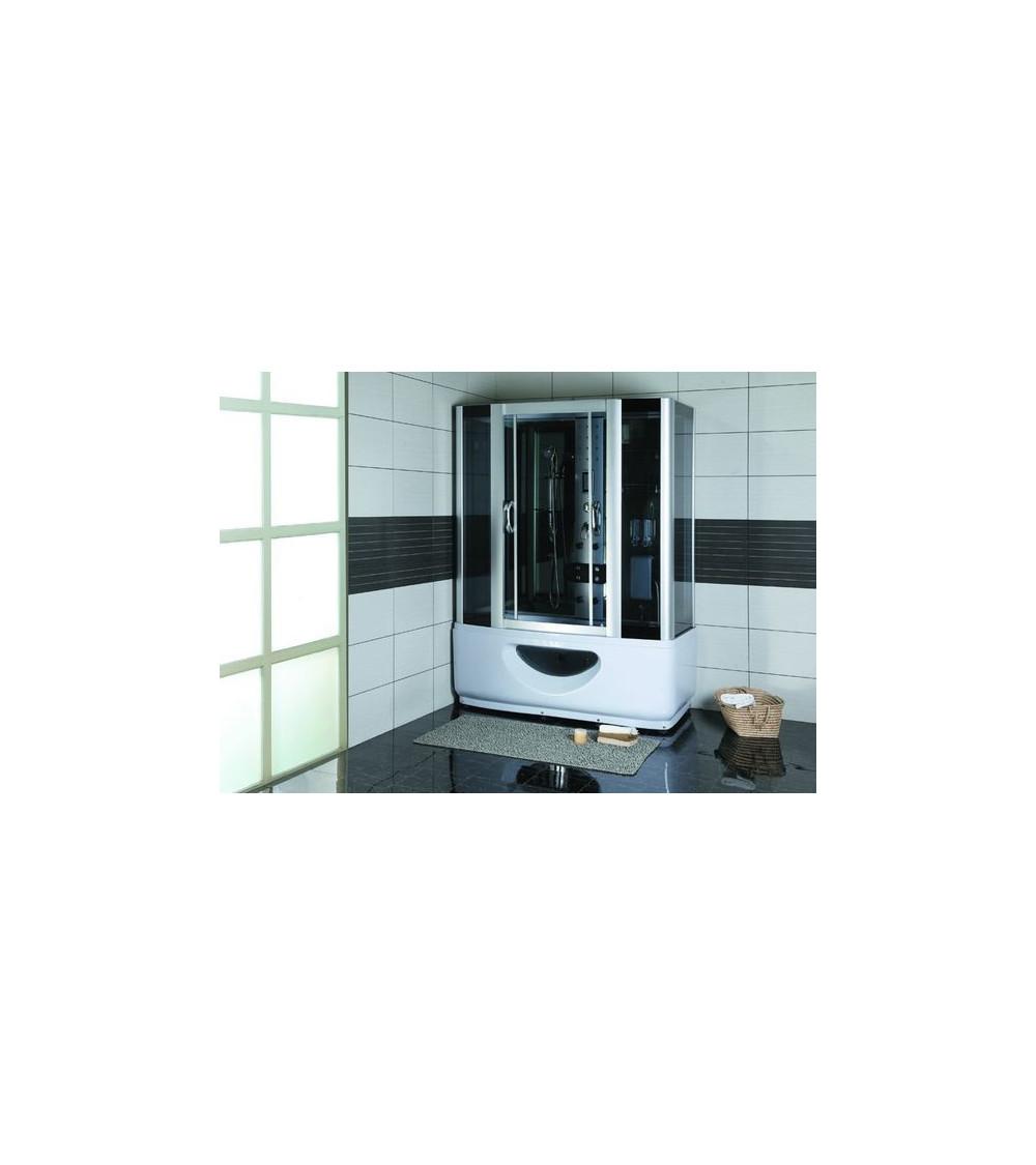 Combiné baignoire-douche SARA hammam et balnéo 145*85*220 cm