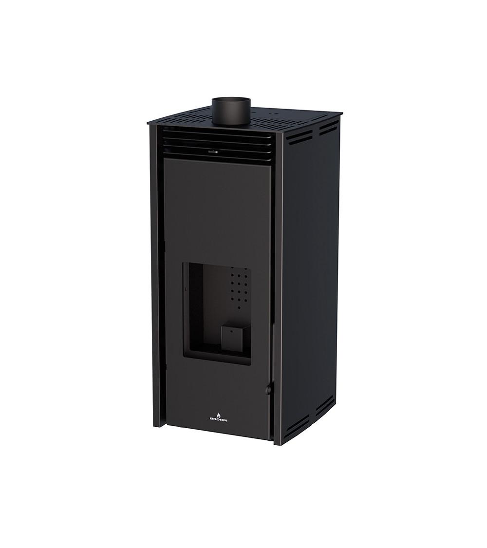 Poêle à pellet FREE 6 kW couleur noire