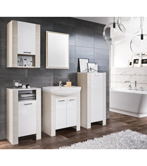 TALIA  bathroom furniture 60cm, natural