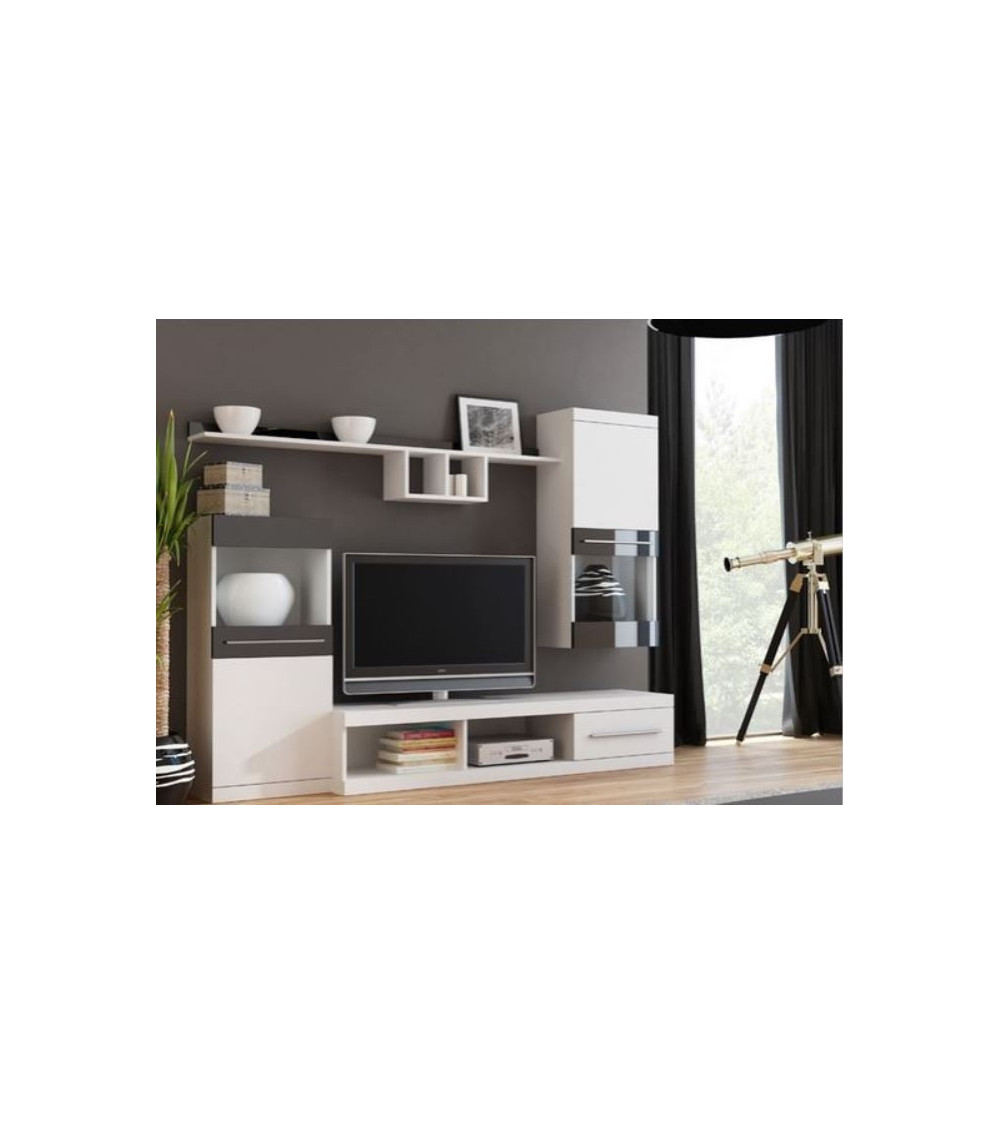 Ensemble meuble TV NICKO 220cm