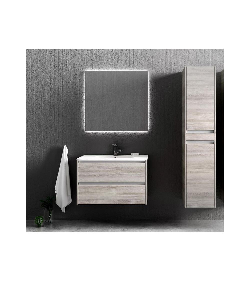 FONTE bathroom furniture, 60 cm, oak sonoma
