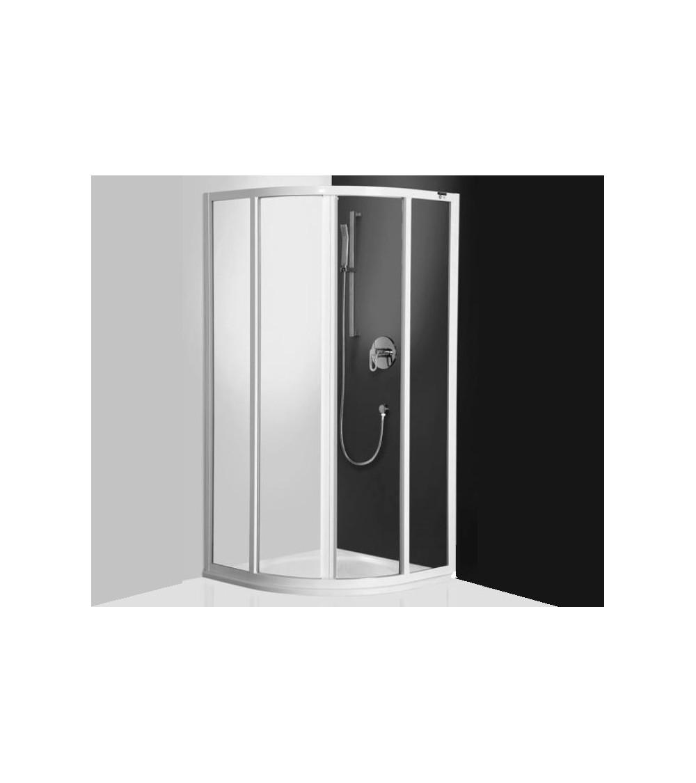 Cabine de douche d'angle CRONIS 80x80 ou 90x90 cm