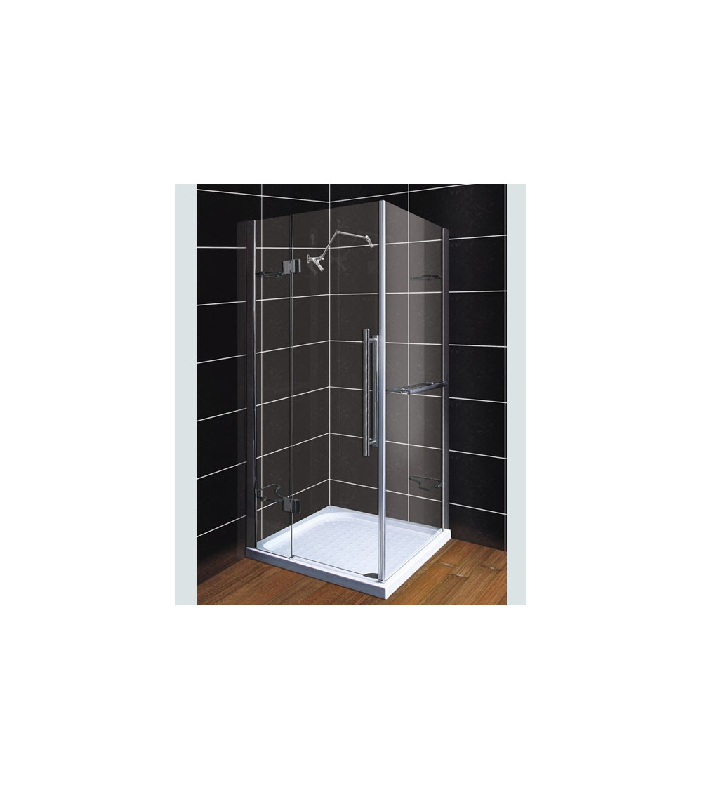 cabine de douche terez 105 93 190 cm cabine de douche design mobilier salle de bain. Black Bedroom Furniture Sets. Home Design Ideas