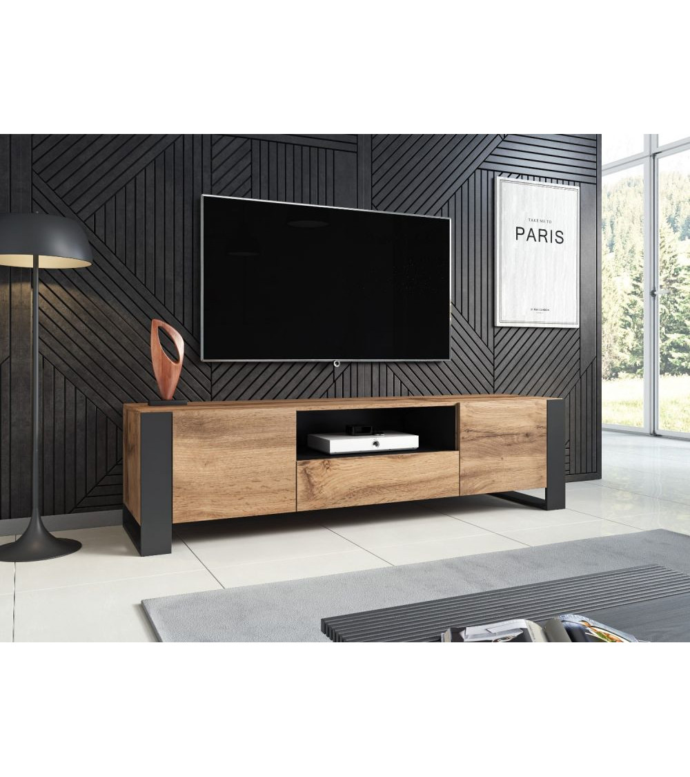 Meuble tv WOODY 180 cm