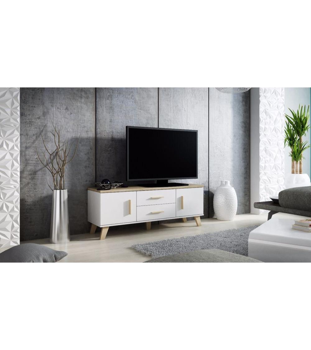 Meuble tv ALEKSANDER 177 x 52 x 45 cm