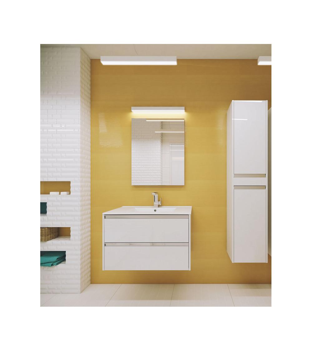Meuble de salle de bain FONTE II 60cm,Blanc
