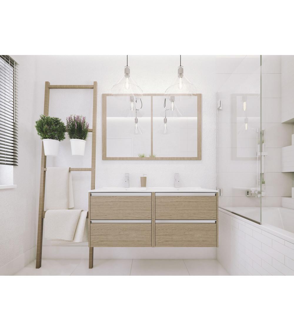 Meuble de salle de bain FONTE II 60cm,chêne sonoma