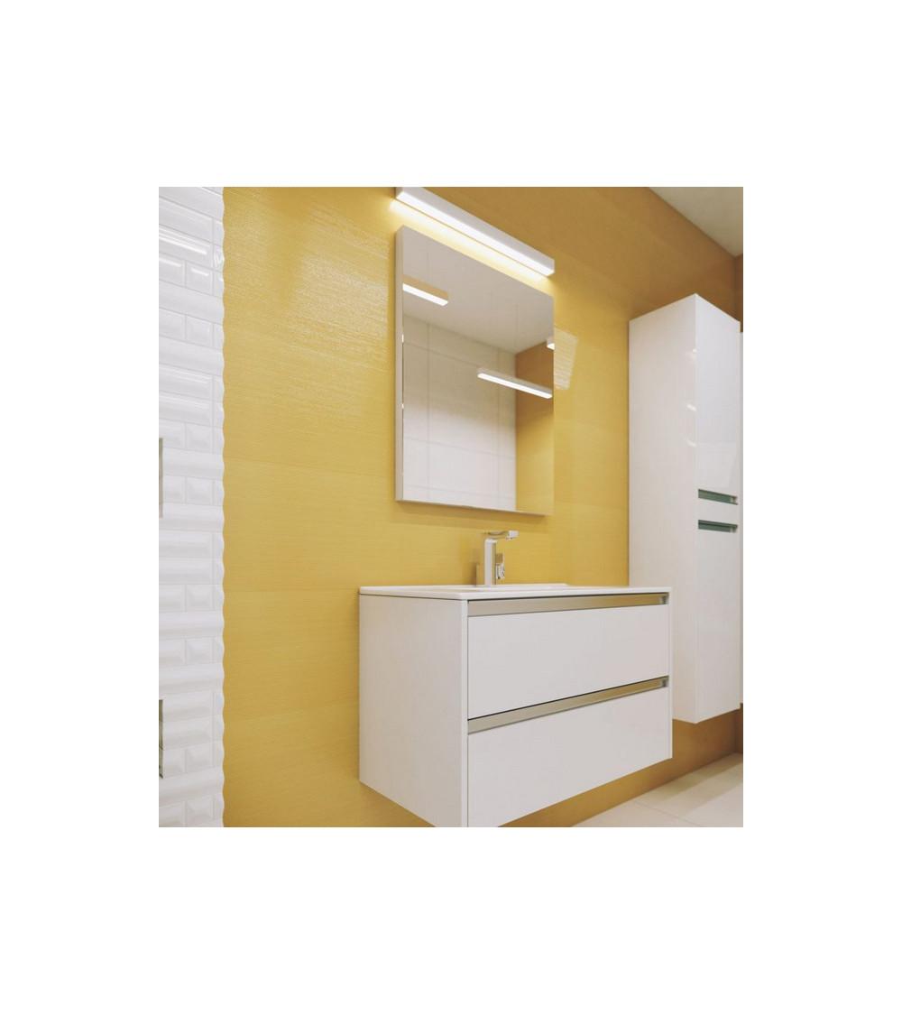 Meuble de salle de bain FONTE 80cm,blanc