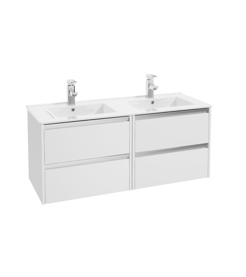 Meuble de salle de bain FONTE III 120cm, blanc