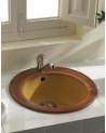 Evier simple KIZZ 81x50cm Sable