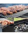 Barbecue olio 48x30x85 cm