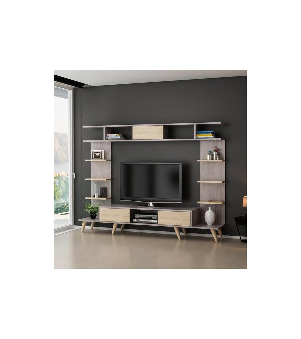 Ensemble meuble TV BERLIN SAFIR