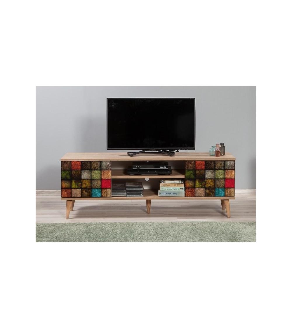 Meuble TV TRUVA couleurs