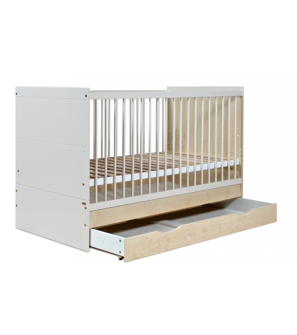 Cama de bebé escalable LILLA, 70-140cm