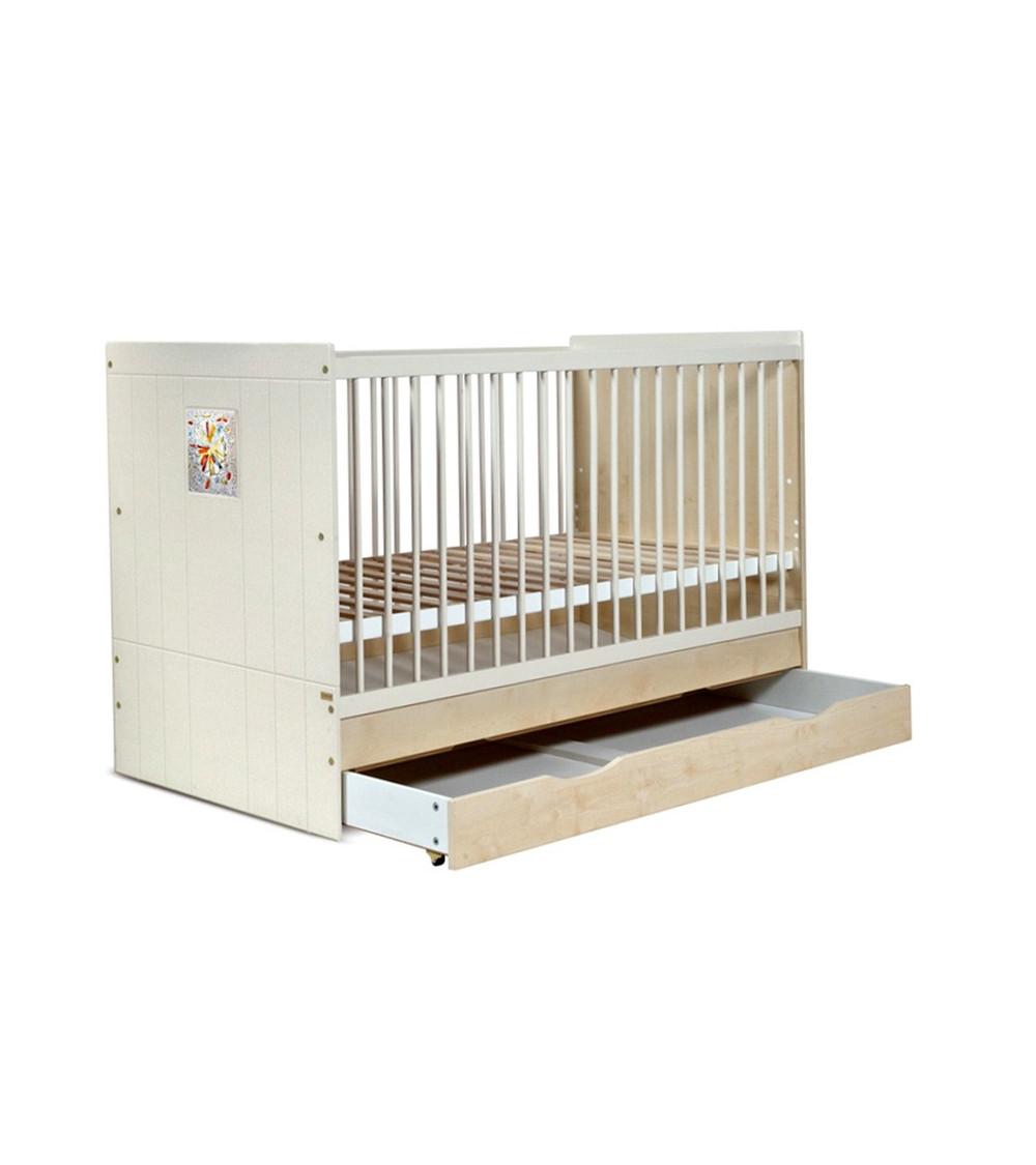 KamILLA cama de bebé escalable, 70-140cm