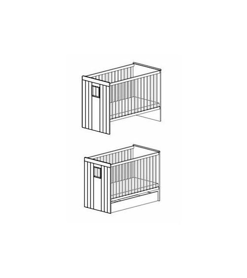Baby cot bed 60*120cm, KAMILLA
