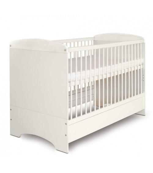 Convertible baby cot bed 70*140cm, ÉCUREUIL