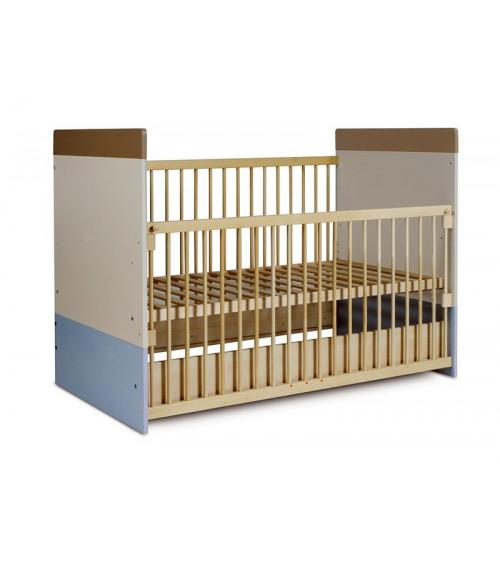 Convertible baby cot bed 70*140cm,  LIZI