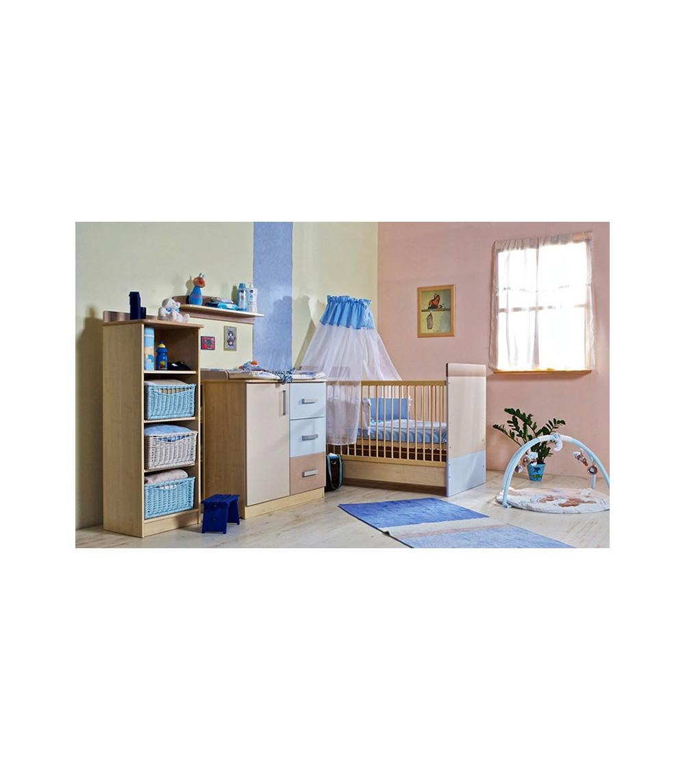Chambre à coucher bébé complète LIZI