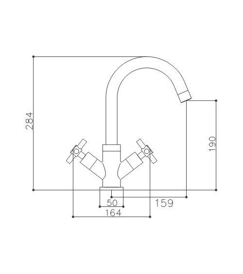 VARNAMO mixer tap