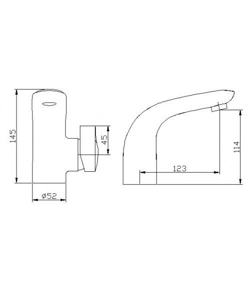OSTHAMMAR basin mixer tap