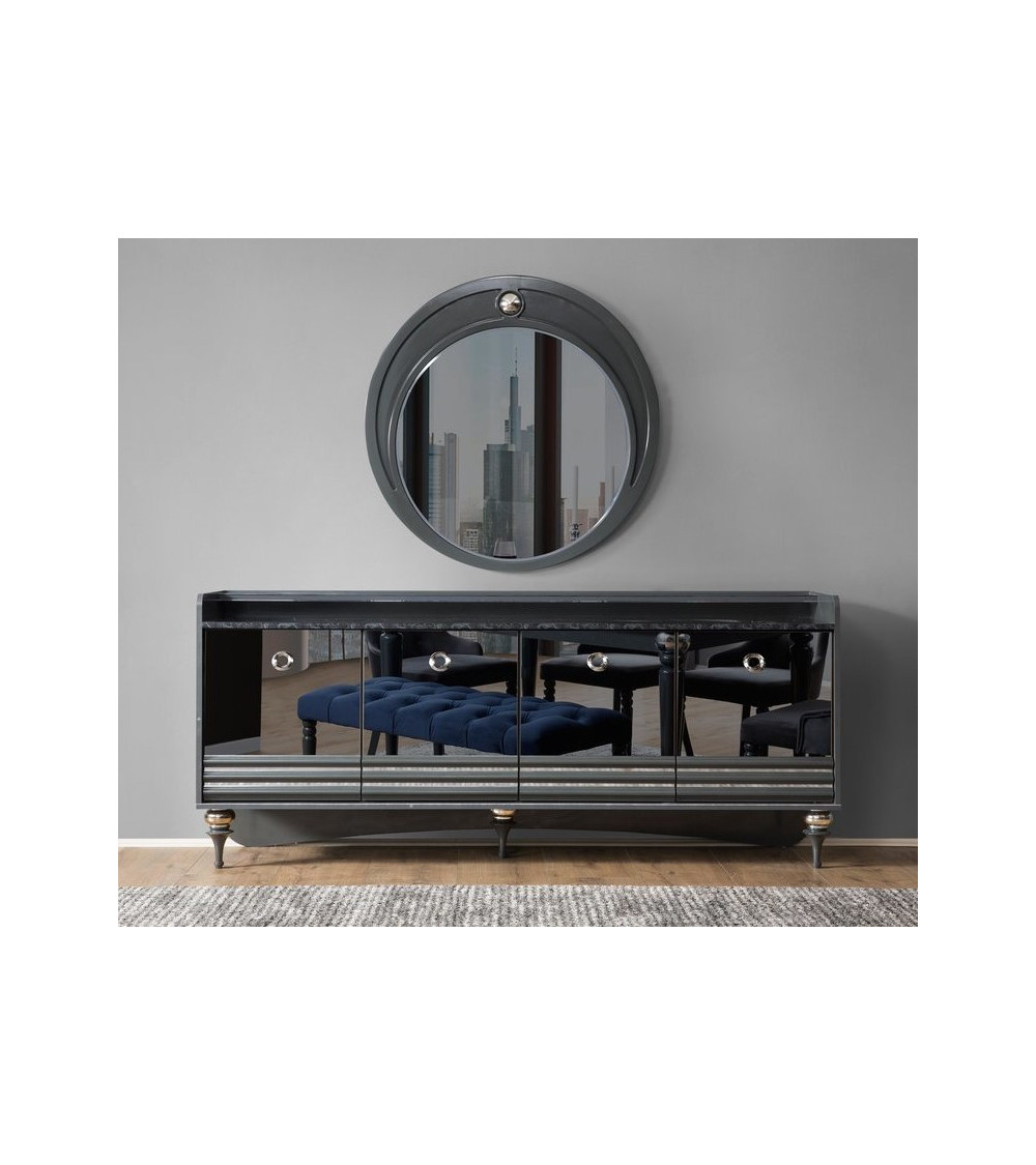 Buffet PUMA 4 portes + miroir