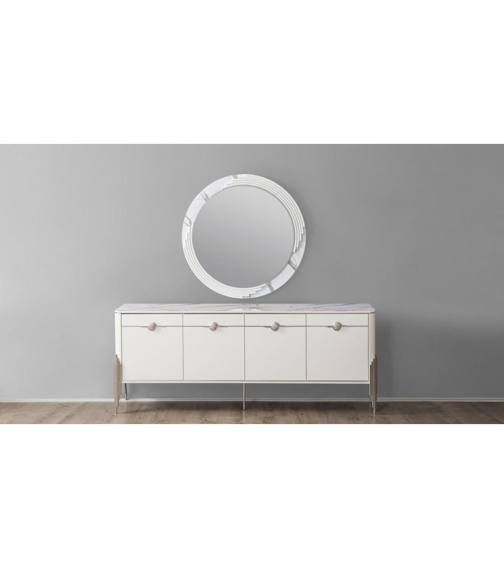 Buffet PARS 4 portes + miroir
