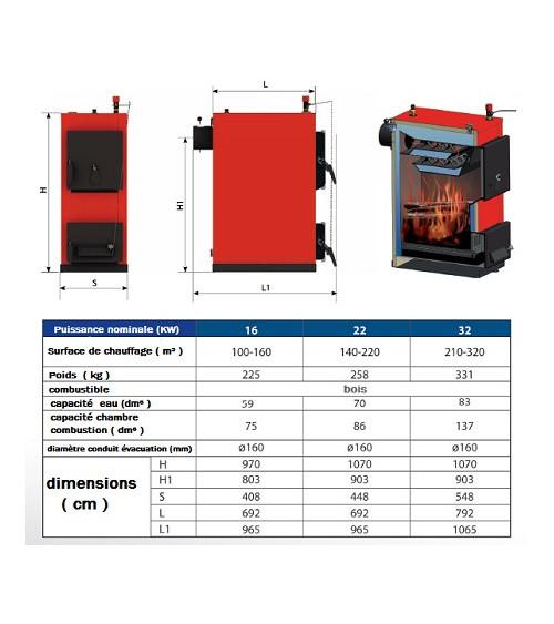 MAXDREW boiler 16 KW