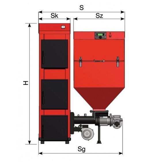 MULTIMAX boiler 22KW