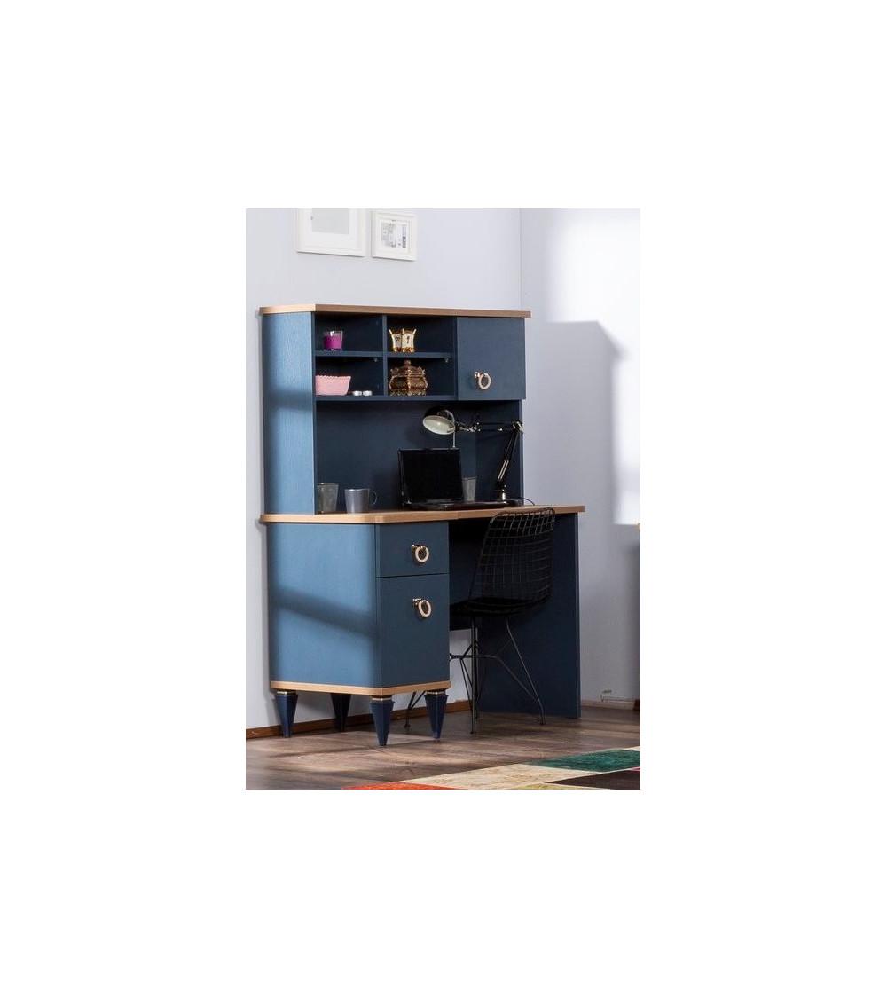 Bureau MOSS bleu