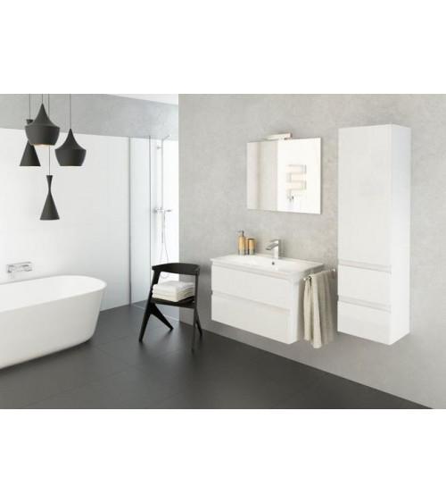 COMO bathroom furniture, white, 80 cm