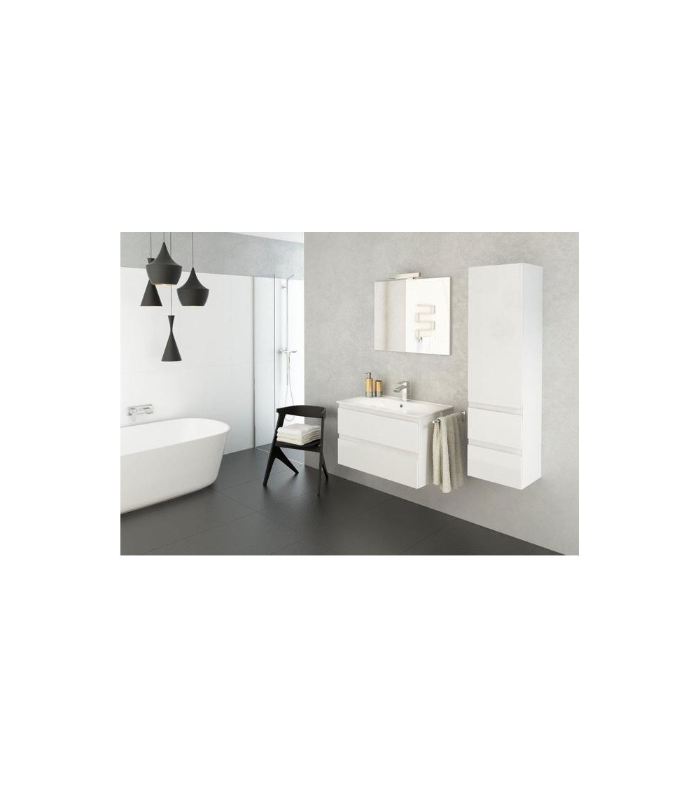 ensemble de salle de bain como 80 cm blanc meuble salle. Black Bedroom Furniture Sets. Home Design Ideas